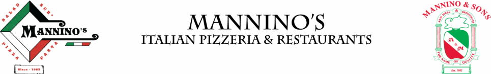 Mannino's and A&M Pizza and Restaurants